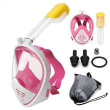Scuba Diving Mask with Anti-Fogging System