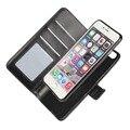 2 em 1 bolsa bolsa capa para iphone 5 5s se caso slot para cartão wallet suporte do telefone para o iphone 6 6 s 6 além de