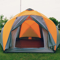 Outdoors 8 12 People family Tent Big Space Beach Tent Thickened Rainproof Camping Tent oversized camping tent
