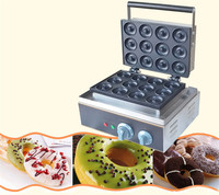 Jamielin Food Grade Stainless Steel Portable Delicious Small Bagel Donut Maker Making Machine Snack Equipment