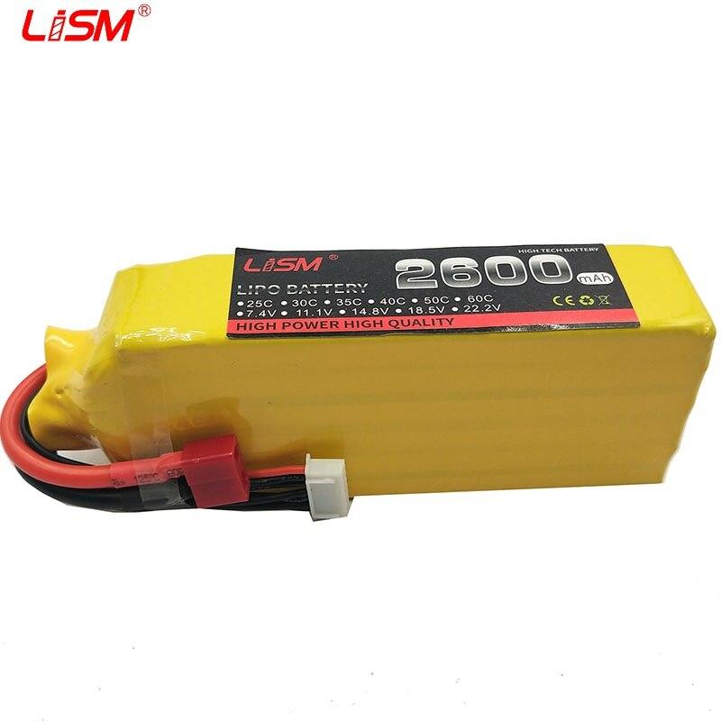 Batterie RC li-po 22.2 v 2600 mAh 35C Max 70c 6 s pour Drone d'avion RC 6 S li-po Batteria cellule de haute qualité #30B43