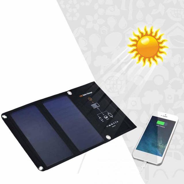 Solar Power Charging Battery  1