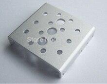 送料無料10xサイドRDS3115ロボット用サーボシルバーサンドブラスト酸化金属uブラケット