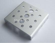 Free shipping 10x  Side Bracket for RDS3115 robot servo Silver sandblasting oxidation  metal U brackets