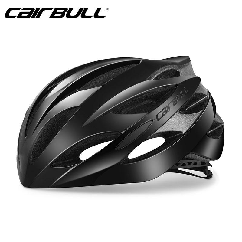 Cairbull Lightweight Cycling Helmet Breathable Road Bike Bicycle Helmet M L 54-62CM Comfortable 9 Color Bike Helmet Black Green цены