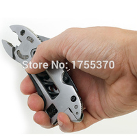 Adjustable Wrench Jaw Screwdriver Pliers Saw Spanner Multi Tool Set Survival Gear For Outdoors