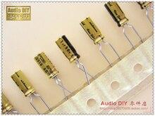30 шт. Nichicon (чистого золота) FG серии 1 мкФ/50 В аудио электролитические конденсаторы Бесплатная доставка