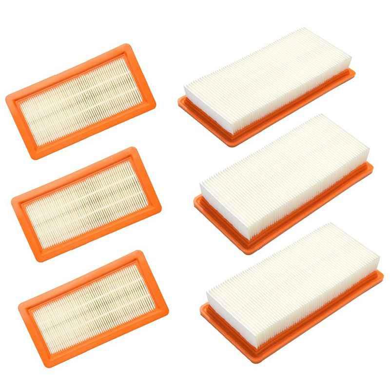 Filtro de repuesto de 6 paquetes para Karcher DS5500 DS5600 DS5800 DS6000 cartucho de filtro tipo 6.414-631,0 DS parte de limpiador