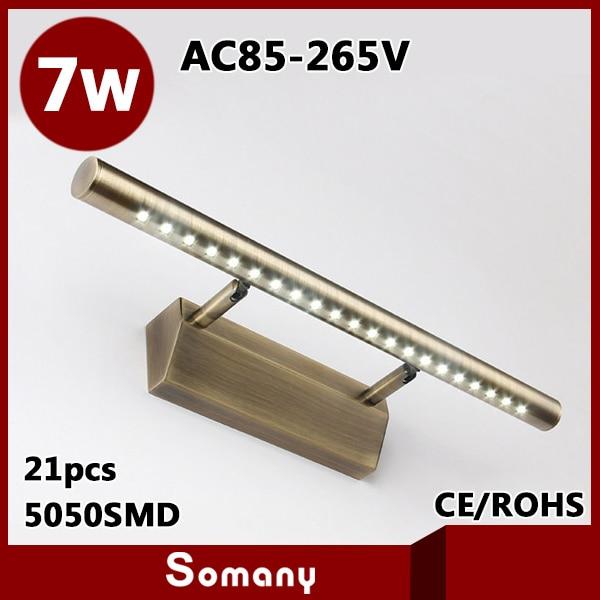 2014 New Arrival Modern Led Wall Light Banheiro Bronze Gold Bathroom Mirror Lamp 7W Bed Room. Online Get Cheap Gold Bathroom Light Fixtures  Aliexpress com