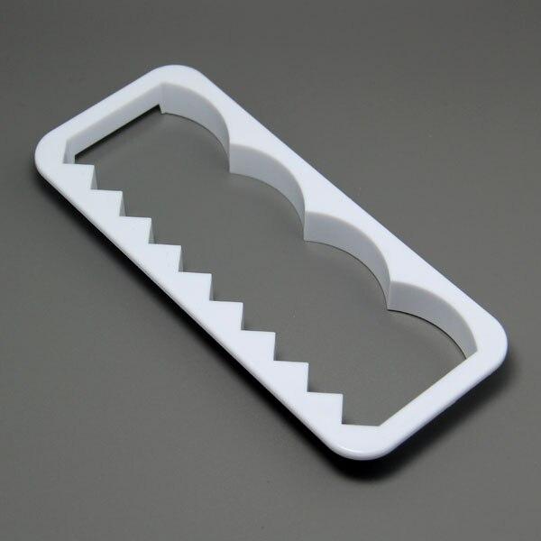 இLa alta calidad libre del envío FDA plástico borde decorador molde ...