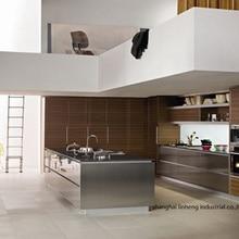 ПВХ/винил кухонный шкаф(LH-PV008