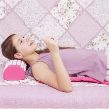 Acupuntura massagem almofada tapete de massagem acupuntura massagem aliviar as costas dor do corpo flor pico acupuntura massagem esteira & travesseiro