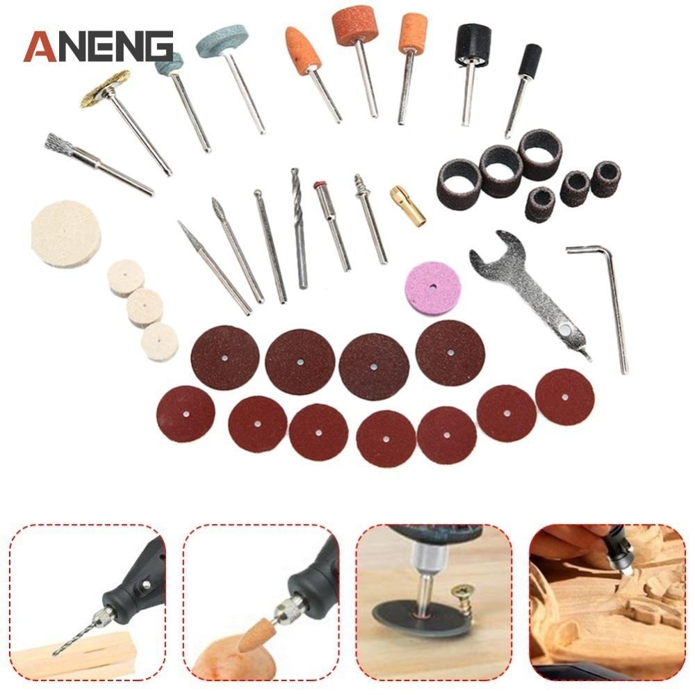 40PCS/Set Electric Grinder Parts Hardware Tools Grinding DIY Polished Cutting Polishing Engraving Electric Rotary Tool