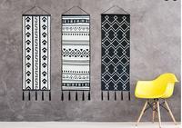 التصميم الأصلي من الاسكندنافية الحد الأدنى الحديثة القماش خلفية القماش القماش نوم ديكور الجدار شنقا نسيج يغطي