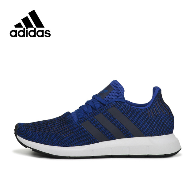 f7064f71e249 Official Adidas Originals Swift Run Men s Running Shoes Breathable Sports  Sneakers Outdoor Walking Light Running Leisure CG4118