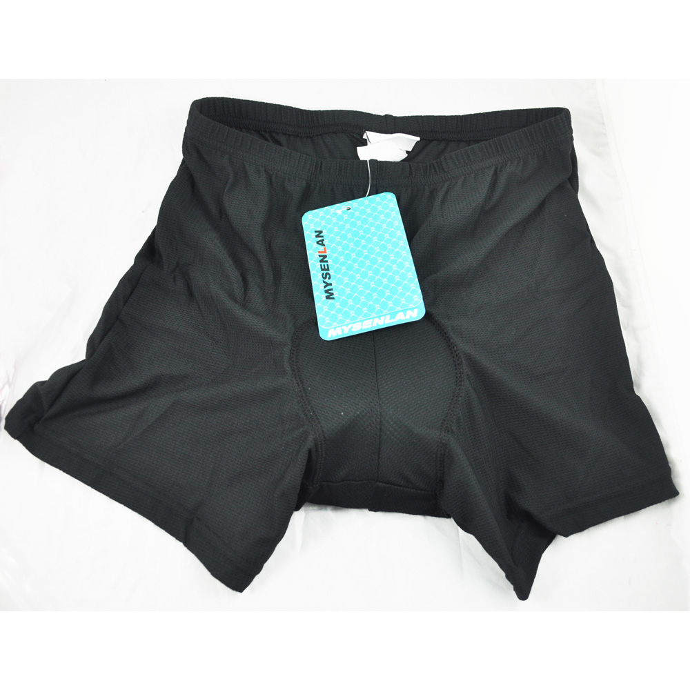 ФОТО 5pcs( New Cycling Outdoor Sports Short Pant 3D Gel Padded Underwear 3 Different Sizes Available