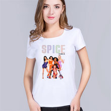 3fe5b782a298bc Spice Girls woMens T Shirts 100% Cotton Design Geek 2018 crossfit bts  Skateboard baseball 3d