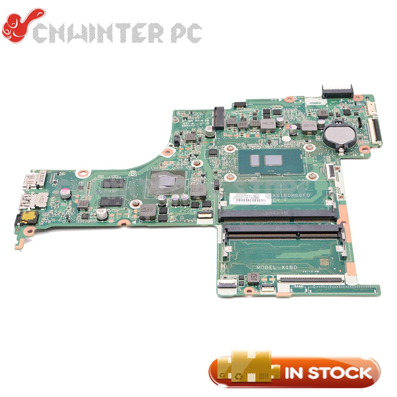 NOKOTION For HP Pavilion 15-AB 15T-AB 15-AB528TX laptop motherboard SR2EY i5-6200U 940M 2GB 836094-001 836094-501 DAX1BDMB6F0NOKOTION For HP Pavilion 15-AB 15T-AB 15-AB528TX laptop motherboard SR2EY i5-6200U 940M 2GB 836094-001 836094-501 DAX1BDMB6F0