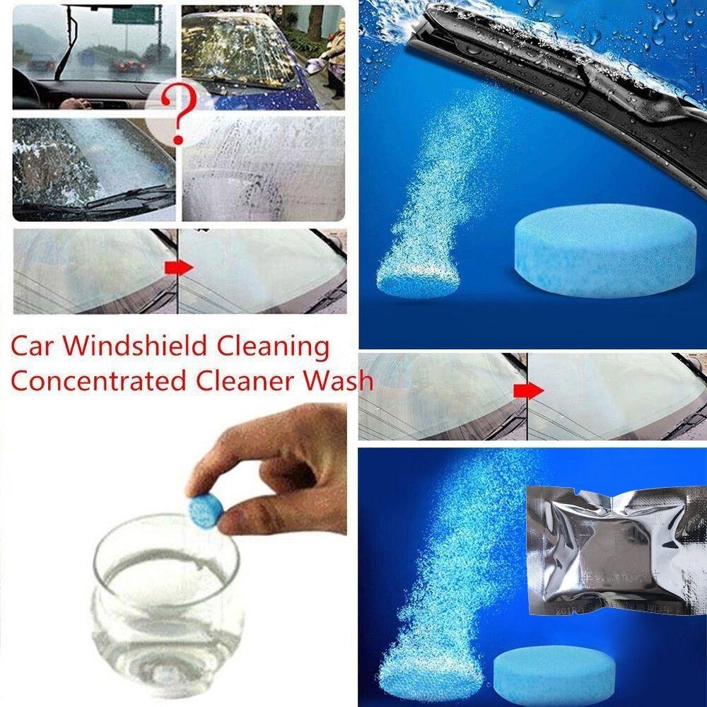 20 Stücke Auto Auto Windschutzscheibe Glas Waschen Reinigung Konzentriert Brause Tabletten Reiniger 5 Stücke/0,77 Blut NäHren Und Geist Einstellen