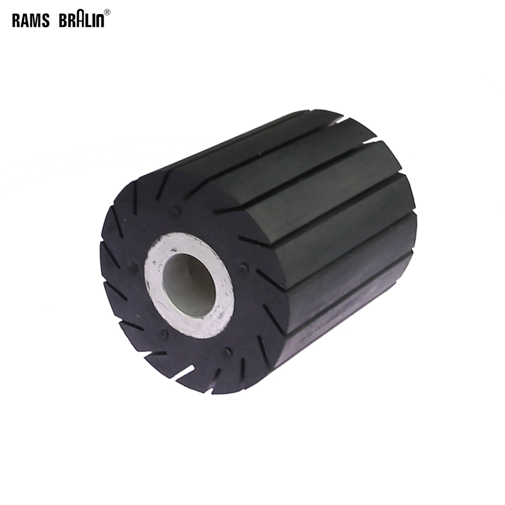 90*100*25mm Expander Wheel Rubber Polishing Wheel Works With Sanding Belts