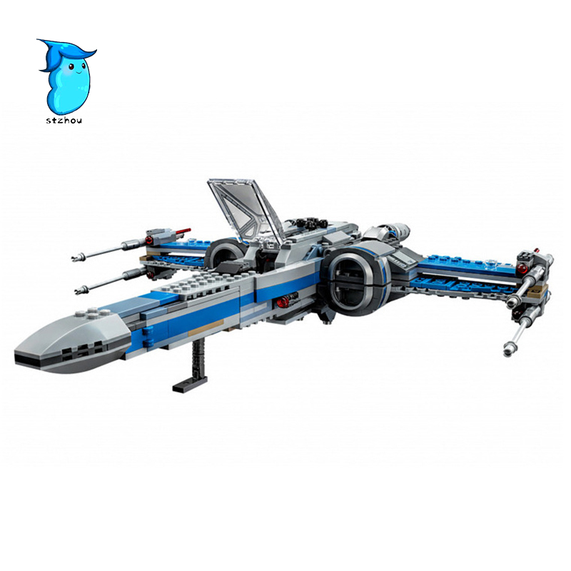 StZhou LEPIN 05029 740pcs Star First Order Poe's X-Fighter wing X Star wing PLAN Toys building blocks For Children's wars hot sale building blocks assembled star first wars order poe s x toys wing fighter compatible lepins educational toys diy gift