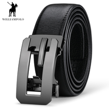 Williampolo 2019 Designer Belts Luxury Genuine Leather Men Belt Automatic Buckle Waist Strap Business Style PL17152P