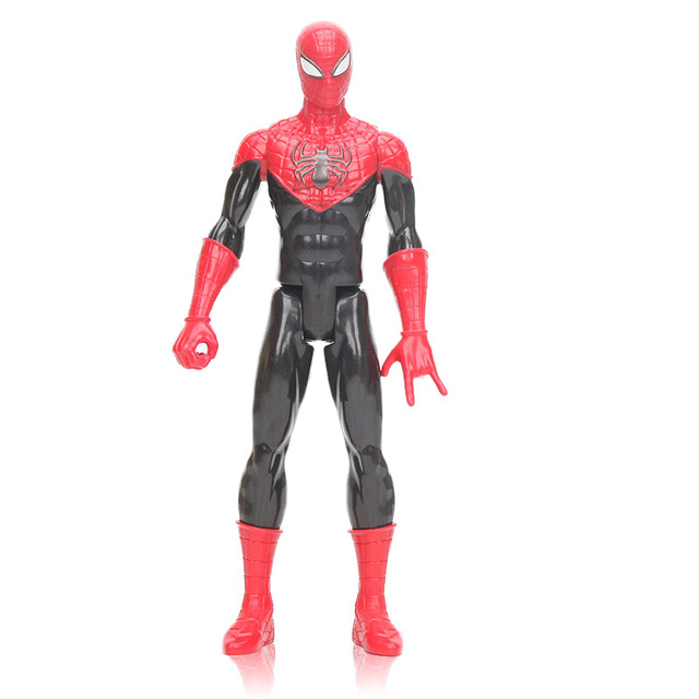 Endgame 30 CM O Vingador Brinquedos Preto Spiderman PVC Action Figure Super Hero Spider-Man Figura Collectible Modelo Boneca brinquedo