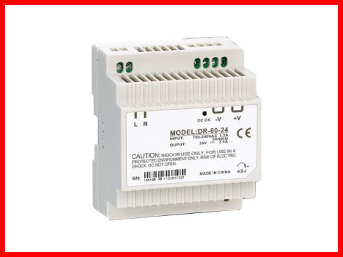 DR-50-7 Din Rail Switching power supply 50W 7VDC 7.2A Output 7 50 1089872