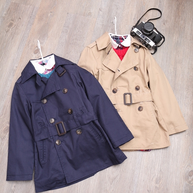 694dc5464 Autumn boys and girls handsome temperament coat 6 10 year-in Jackets ...