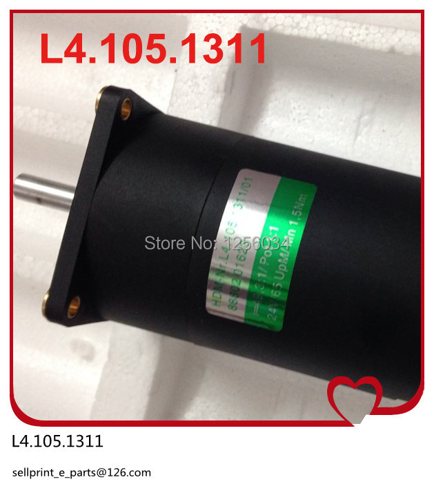 2 pieces FREE SHIPPING motor L4.105.1311 for printing machine heidelberg, heidelberg printing machinery motor L4.105.1311/01