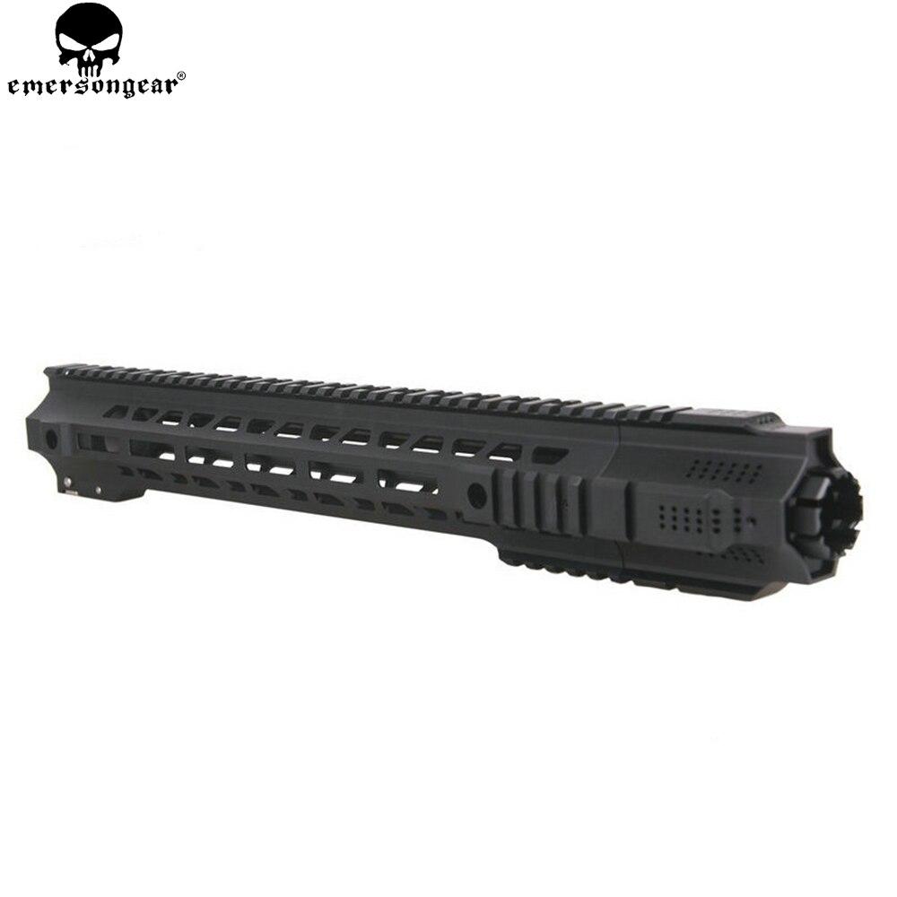 EMERSONGEAR Hunting Picatinny rail 14''/17'' HandGuard Rail System Black Airsoft AEG M4/M16 BD SAI Style GRY Rails M4 RAIL aeg bp 5731460 m