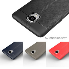For One plus 3T Case Oneplus 3t Carbon Fiber Silicone Phone for Oneplus3 Back Cover Coque Etui Fundas