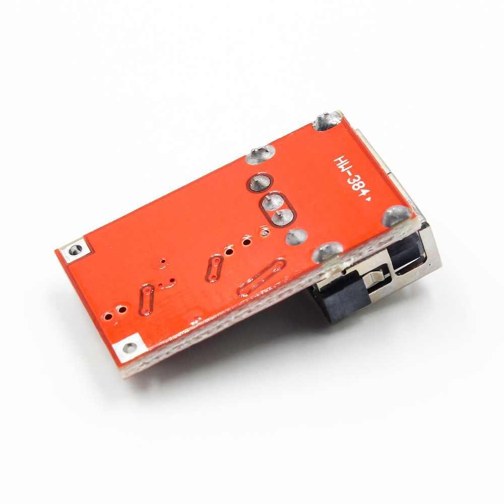 DC 6-24V 12 V/24 v à 5V chargeur de sortie USB abaisseur du Module d'alimentation Mini DC-DC Module de poussée convertisseur de puissance réglable
