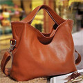 Fashion new vintage Female Tote Genuine Leather Bags Women Leather Handbags Women Shoulder Bags Luxury Big Casual Bag