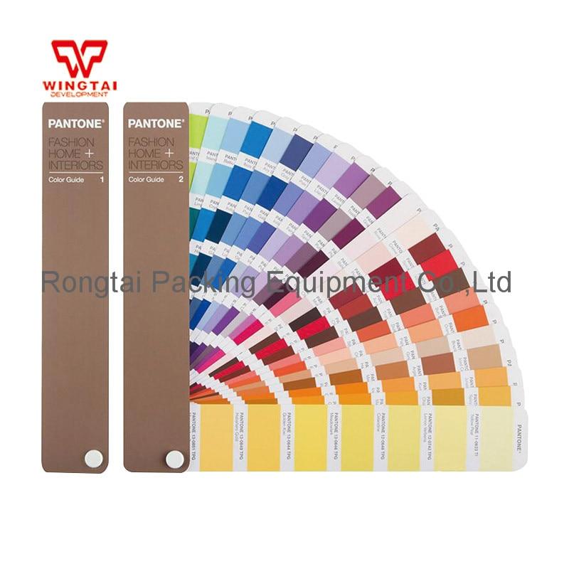 2pcs/Set 2017 new Pantone TPG Fashion Home Color Guide FHIP110N For Garments