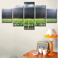 New Sale American Football Field Under The Spotlight Fashion Wall Art For Room Decor Canvas Painting