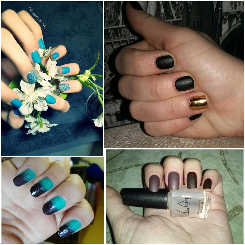 6 ML Magie Super Matte Nagellack Transparent Nails Gefrostet Öl ...