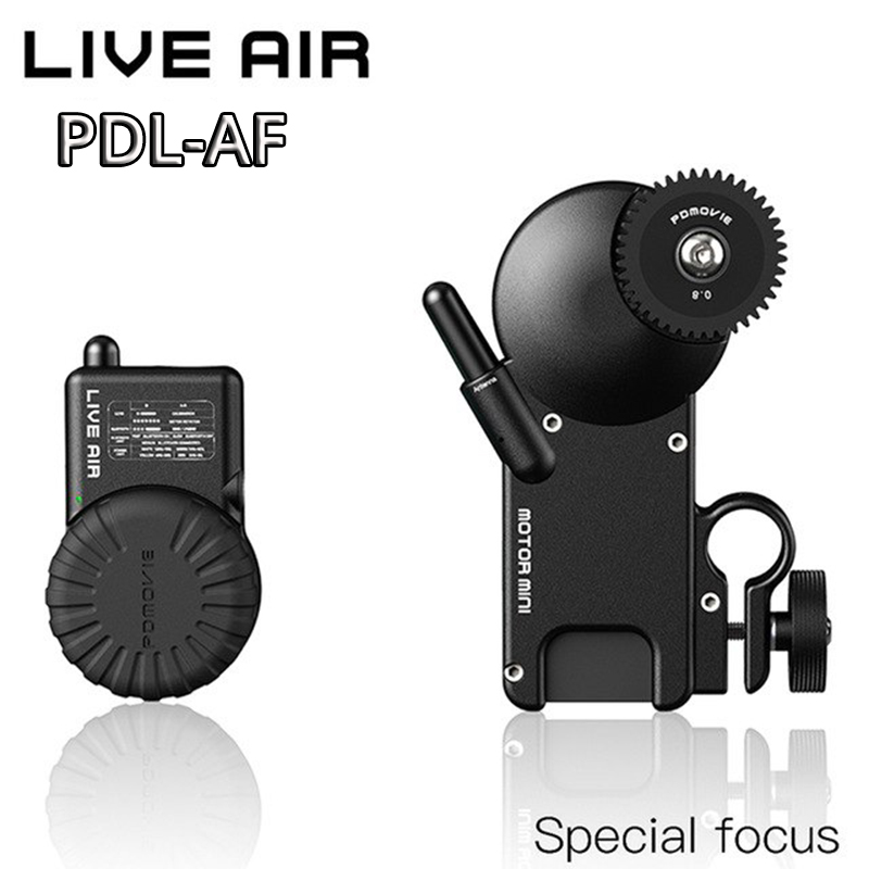 купить PDMOVIE LIVE AIR pdl-af Remote Wireless Follow Focus System For DJI ronin s zhiyun crane 2 MOZA aircross Gimbal DSLR Camera Sony по цене 41010.07 рублей