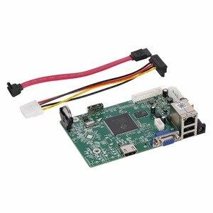 Image 4 - 8 канальный 4MP мини NVR сетевой видеорегистратор основная плата для 2mp 4mp 5mp IP камера система для ONVIF ip камеры