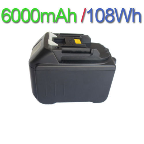 6000mAh Li-Ion Packs Replacement Power Tool Battery for Makita 194205-3 18V BL1830 BL1860 BL1840 BL1850 LXT400 BHR240 ML185 cm 052535 3 7v 400 mah для видеорегистратора купить