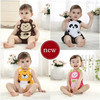 Summer new 2014 baby bodysuits strap molding baby clothing triangle sleeveless bodysuits