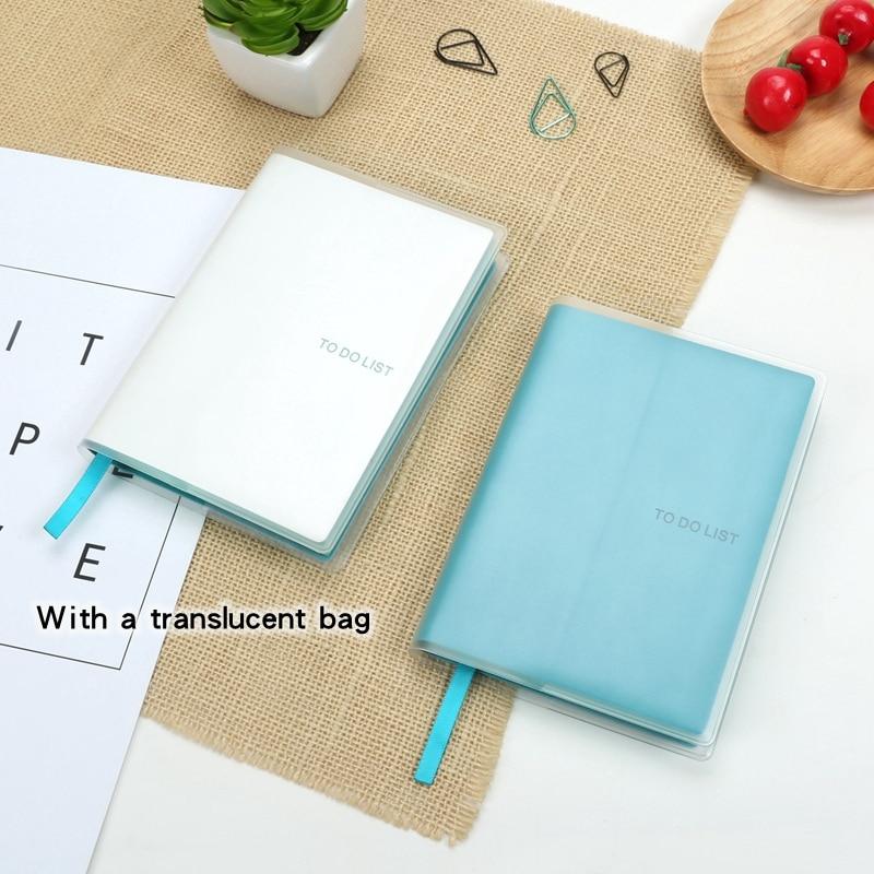 att göra lista anteckningsböcker A6 tid planer schema agenda Söt - Block och anteckningsböcker - Foto 4