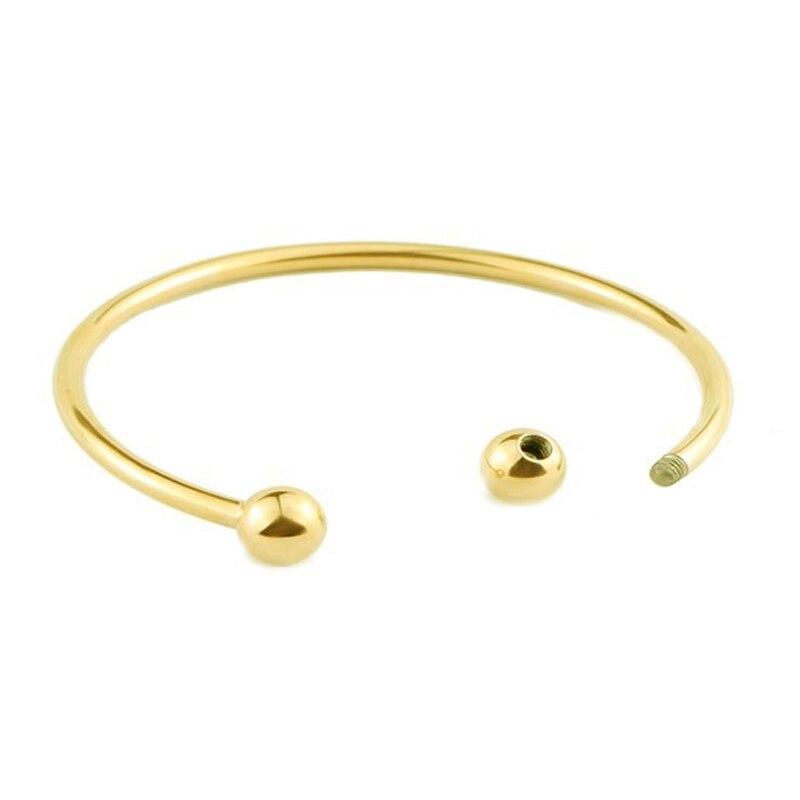 BS001-17 DIY bangle bracelets for women stainless steel-1