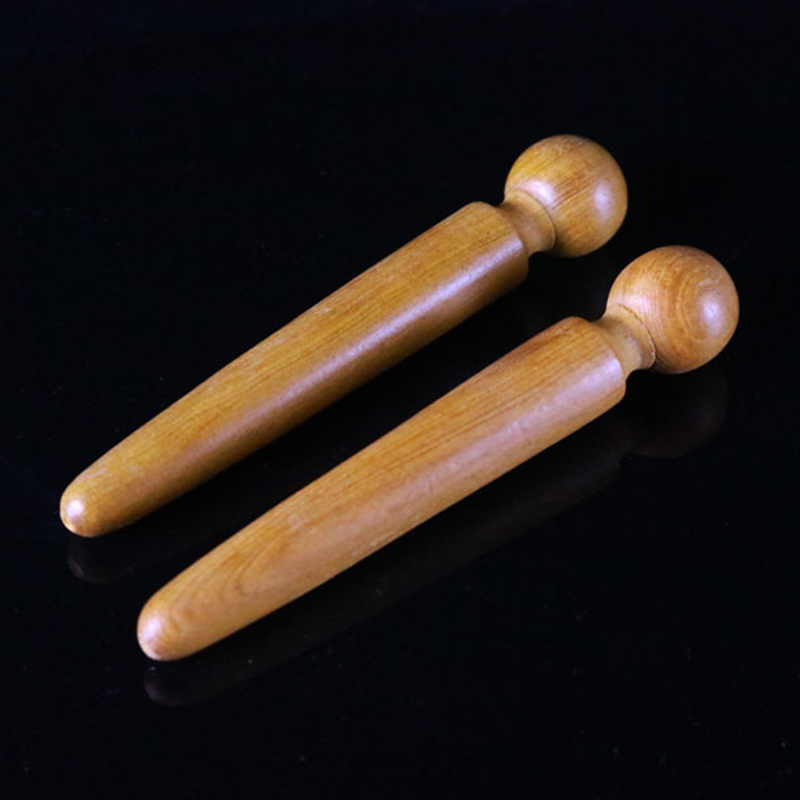 Foot Body Massager Wooden Stick Acupuncture Foot Reflexology Massager Relieve Muscle Soreness Relaxing Foot Care Tool