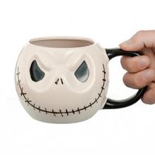 Halloween Skull Drinkware Jack Skellington Coffee Mugs