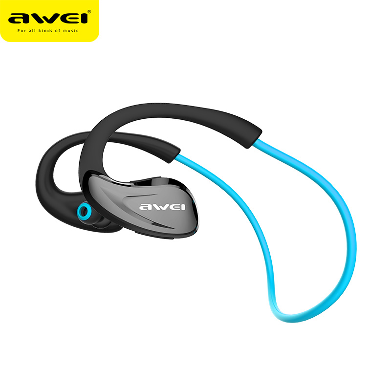 Awei A880BL Bluetooth Earphones Wireless Headphones with Microphone For Phone Bluetoot V4.1 APT-X Sport Auriculares kulakl k awei a880bl black