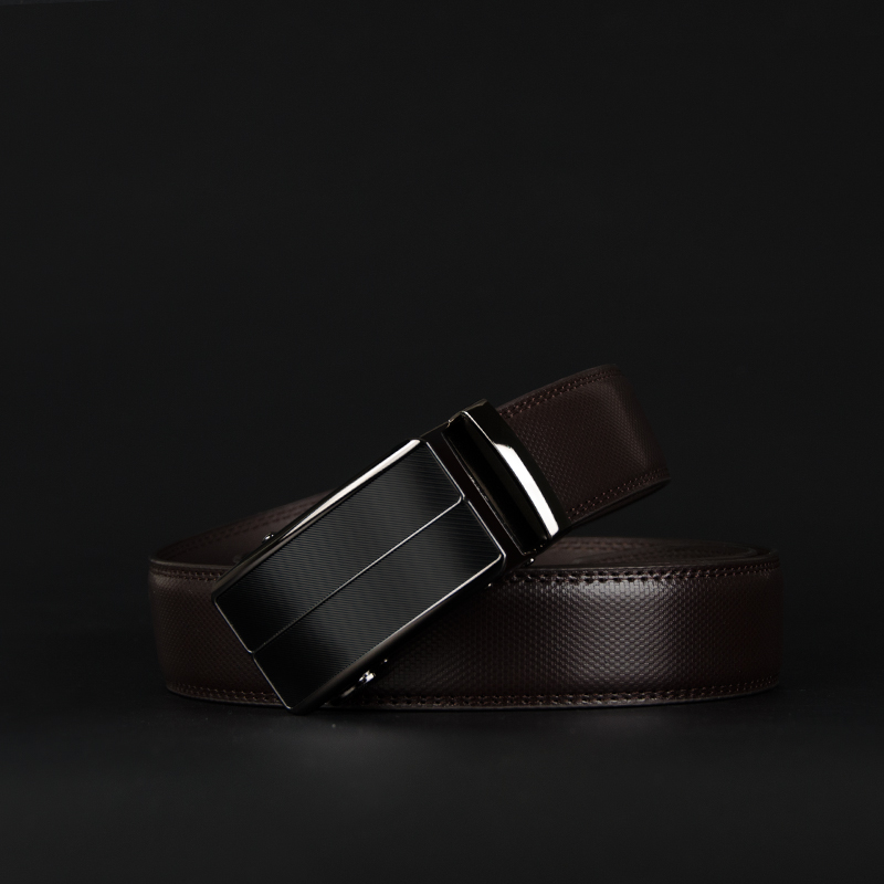 Men's Belt Cowhide-Strap Automatic Buckle Male Genuine-Leather for Alloy New-Arrival