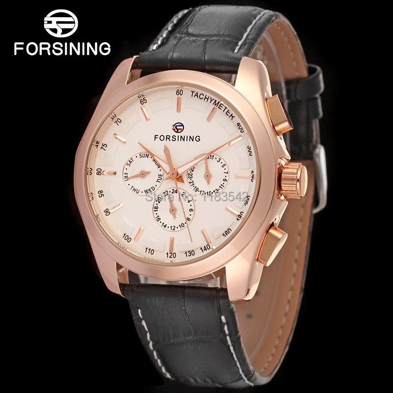 FORSINING FSG6625M3R2  new Automatic fashion dress Men watch tourbillon rose gold wristwatch for men best gift free shipping forsining fsg6625m3r2 new automatic fashion dress men watch tourbillon rose gold wristwatch for men best gift free shipping