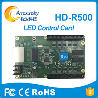 P5/P6/P8/P10 hd r500 full color received computer data by 1000M Network card rgb led pixel controller led sign card