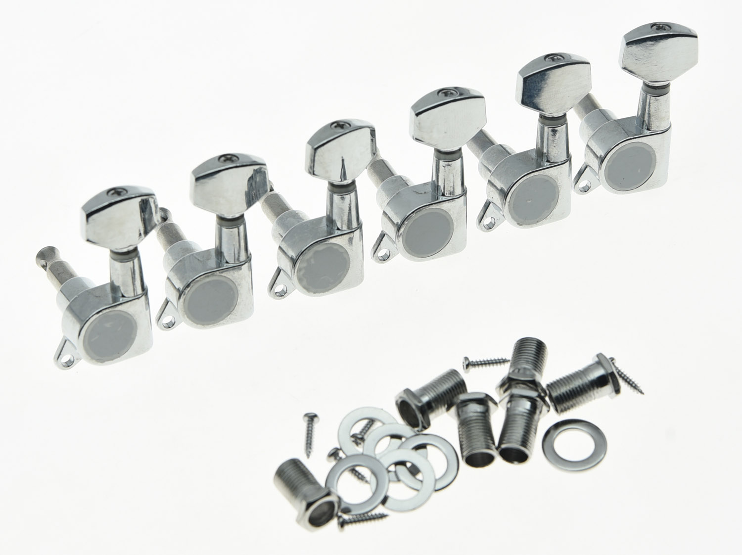 Kaish Lefty 6 Inline Tuning Keys Guitar Tuners Left Handed Aliexpresscom Buy Free Shipping Wilkinson Chrome Covered Vintage Machine Heads